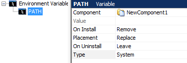 Remove part of Environment variable
